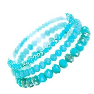 Jewelry - Turquoise Stacking Bracelets